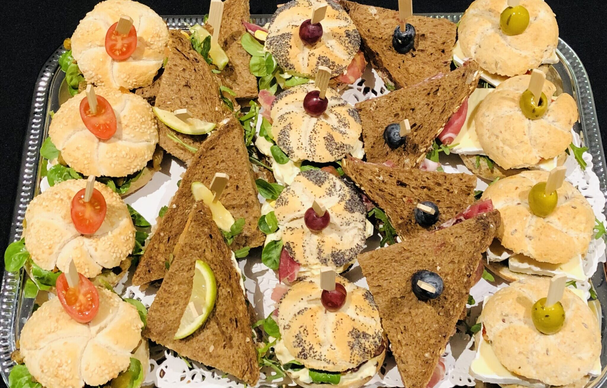 Mini Sandwiches Broodjes